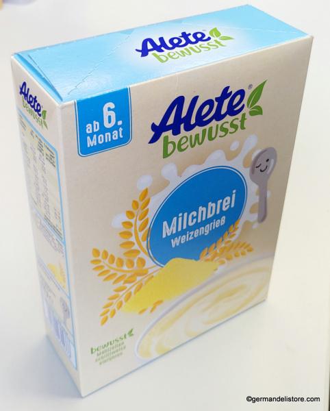 Alete Milk Pudding Semolina Porridge