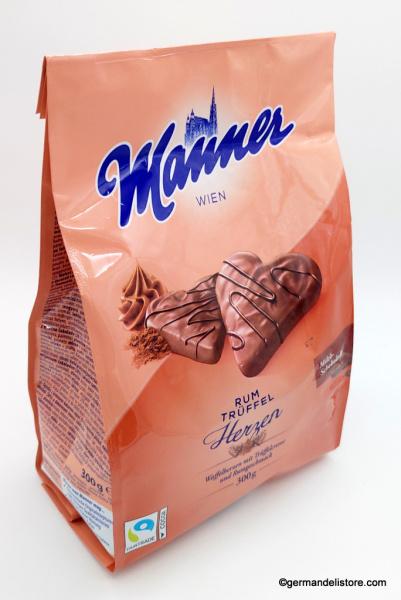 Manner Rum Truffle-Cream Hearts