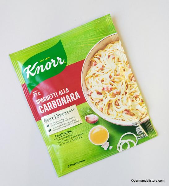 Knorr Fix for Spaghetti alla Carbonara