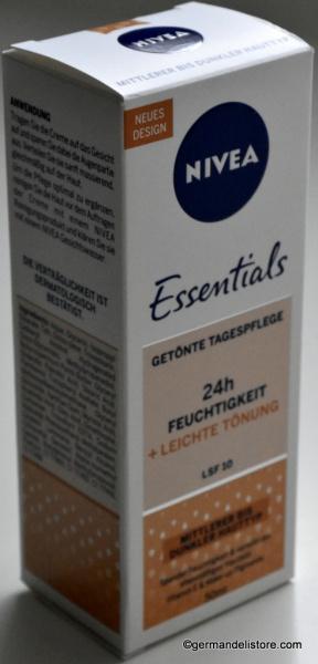 Nivea Essentials Tinted Moisturising Cream Bronze