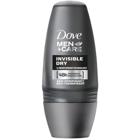 Dove Deo Roll On Men +Care Invisible Dry