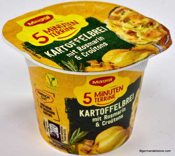 Maggi 5 Minutes Terrine Mashed Potatoes with Rosemary and Croutons