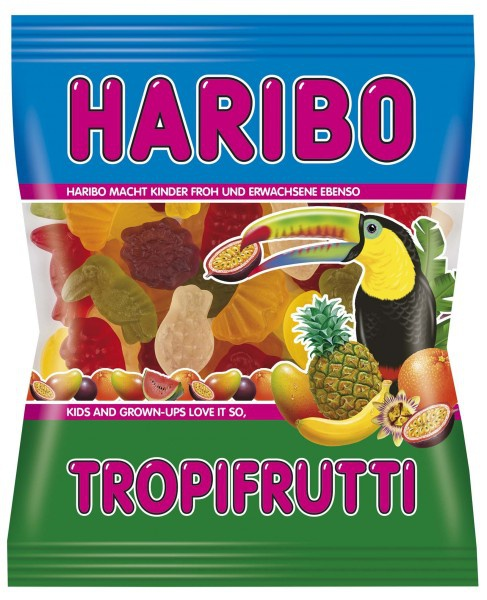 Haribo Tropifrutti Tropical Fruit Gums Germandelistore Com