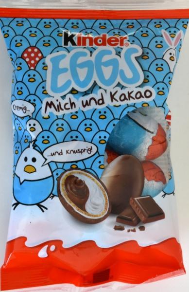 Ferrero Kinder Chocolate Eggs Milk & Cocoa Cream