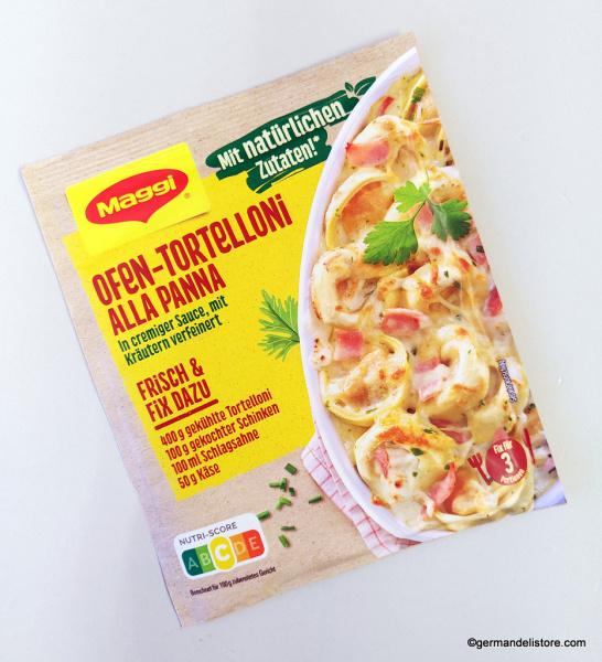 Maggi Fix & Fresh Ofen Tortelloni alla panna