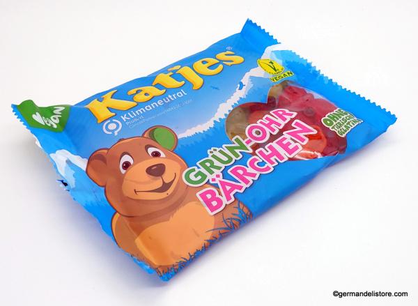 Katjes Green Eared Bear