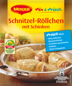 Maggi Fix & Fresh Schnitzel Rolls with Ham | GermanDeliStore.com | {Maggi fix 72}