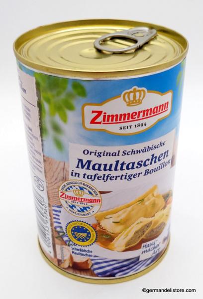Zimmermann Original Swabian Maultaschen