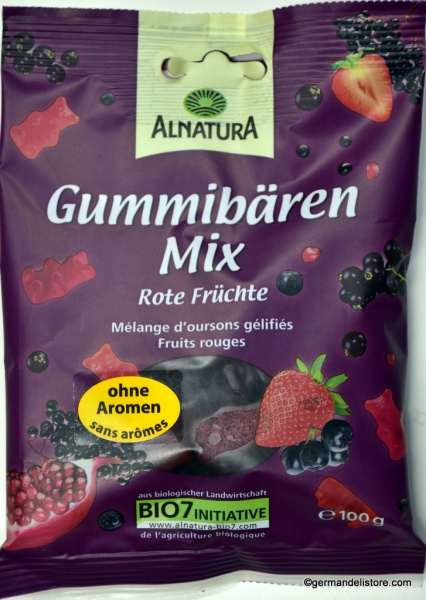 Alnatura Gummy Bears Mix Red Fruits
