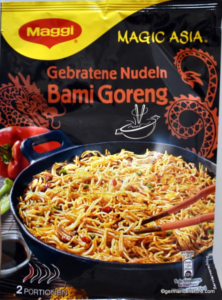 Maggi Magic Asia Fried Noodles Bami Goreng
