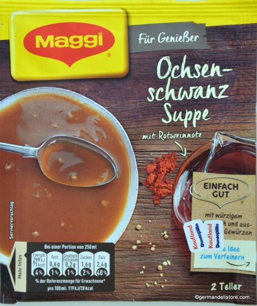 Maggi Für Genießer Oxtail Soup