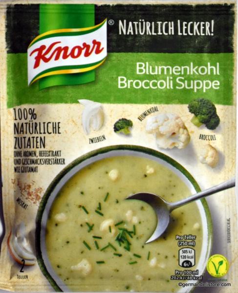 Knorr Natürlich Lecker! Cauliflower Broccoli Soup