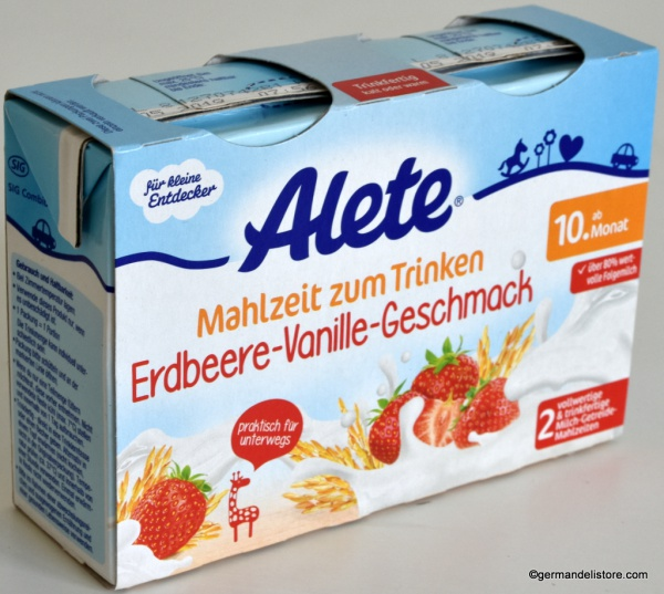 Alete Meal to Drink Strawberry Vanilla Flavour