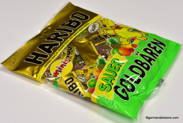 Haribo Gold Bears Sour minis