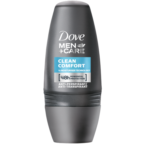 Dove Deo Roll On Men +Care Clean Comfort