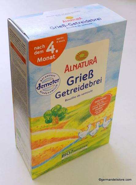 Alnatura Semolina Cereal Porridge