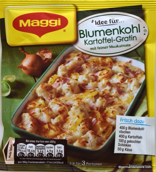Maggi Fix & Fresh Cauliflower Potato Gratin