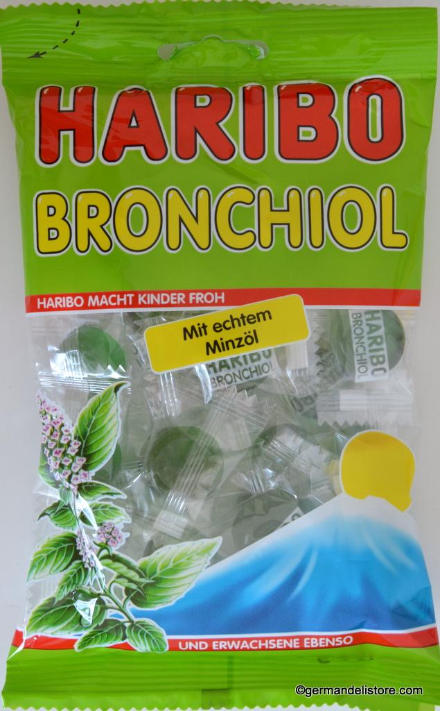 Haribo Bronchiol Mint - Gummi Candy | GermanDeliStore.com