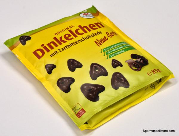 Dr.Quendt Dinkelchen Dark Chocolate
