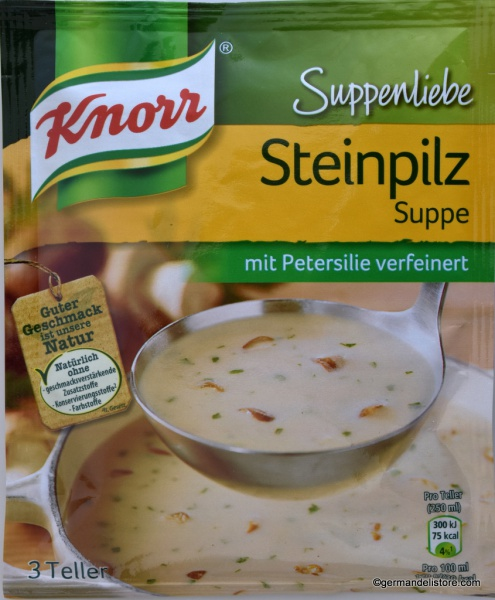 Knorr Suppenliebe Boletus Soup
