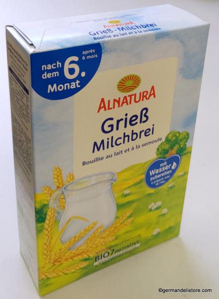 Alnatura Semolina Milk Porridge