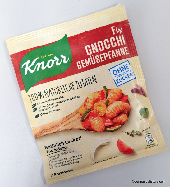 Knorr Fix Naturally Delicious Gnocchi Vegetables Pan