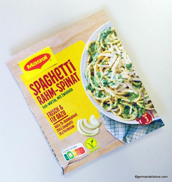 Maggi Fix & Fresh Spaghetti Cream Spinach