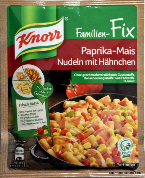 Knorr Family Fix for Paprika Corn Noodles with Chicken