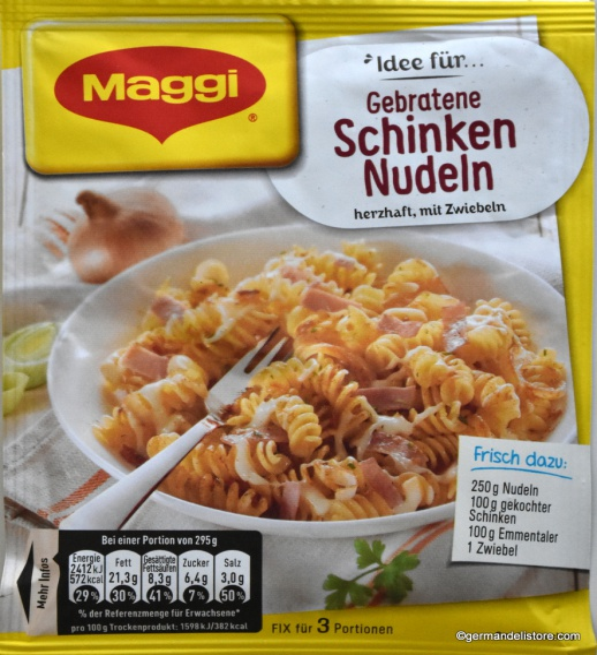 Maggi Fix & Fresh Pan-Fried Ham Noodles
