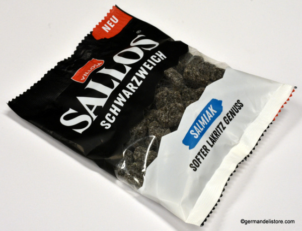 Villosa Sallos Schwarzweich Soft Salmiak
