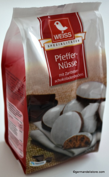 Weiss Chocolated Gingerbread Nuts