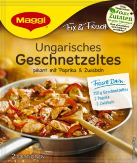 Maggi Fix & Fresh Hungarian Style sliced Meat
