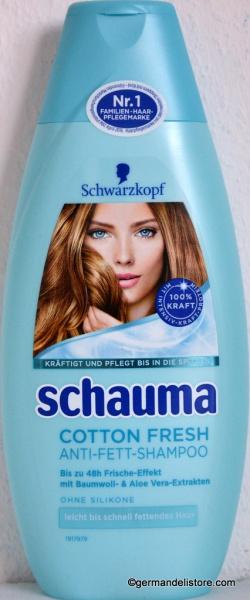 Schwarzkopf Schauma Cotton Fresh Shampoo