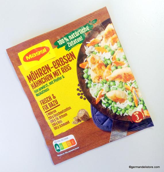 Maggi Fix Natural Carrot Pea Chicken