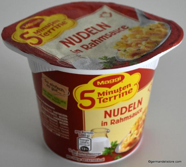 Maggi 5 Minutes Terrine Noodles in Cream Sauce