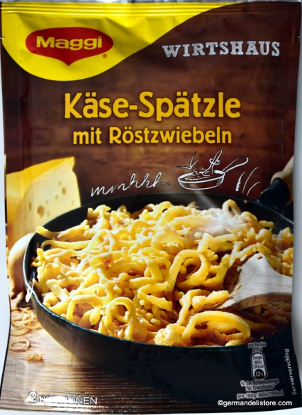 Maggi Wirtshaus Cheese Spaetzle with Fried Onions