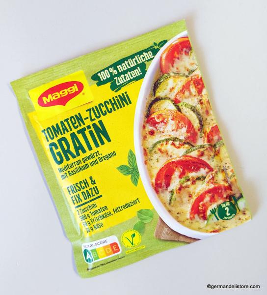Maggi Fix Natural Tomato Zucchini Gratin