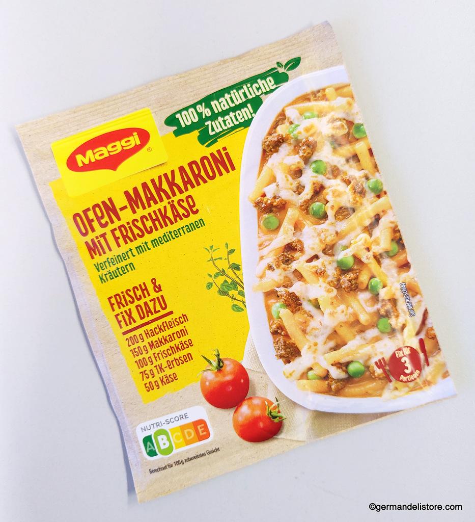 Maggi Fix Fresh Oven Macaroni With Cream Cheese