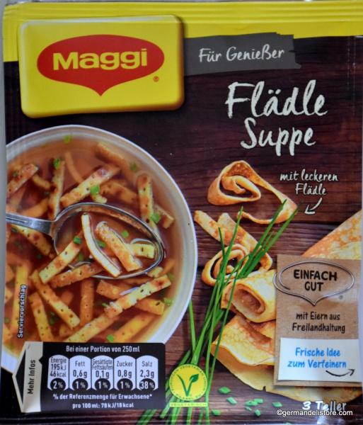 Maggi Für Genießer Flaedle Soup with Pancake Strips