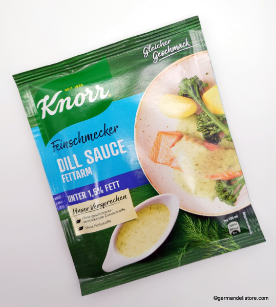 """Knorr Gourmet Dill Sauce """"low fat"""""""