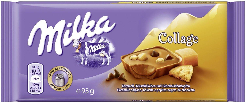 Milka Collage Caramel Chocolate Bar   GermanDeliStore.com