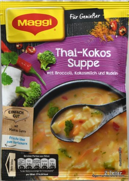 Maggi Für Genießer Thai Coconut Soup
