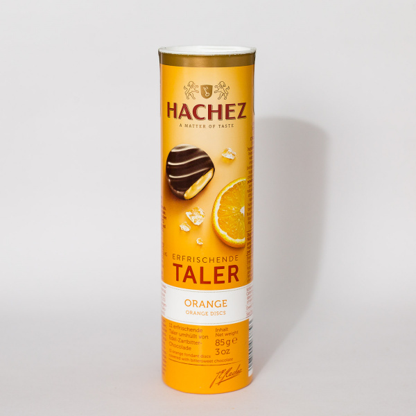 Hachez Chocolated Orange Rounds