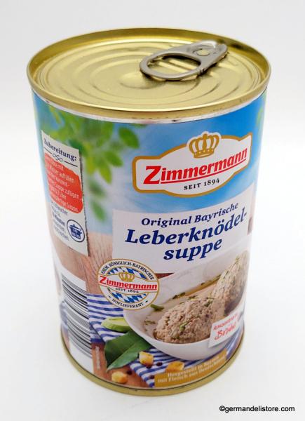 Zimmermann Original Bavarian Liver Dumpling Soup