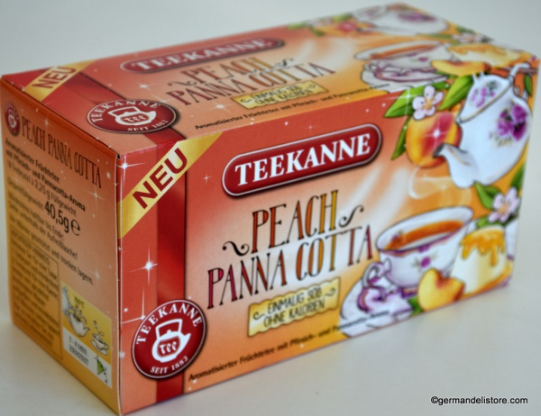 Teekanne Peach Panna Cotta