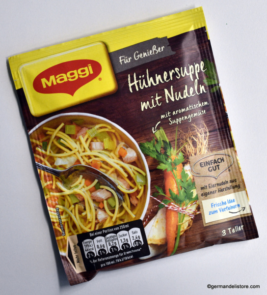 Maggi Für Genießer Chicken Soup with Noodles