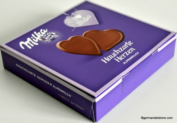 Milka I Love Milka Tenderly Milk Chocolate Hearts