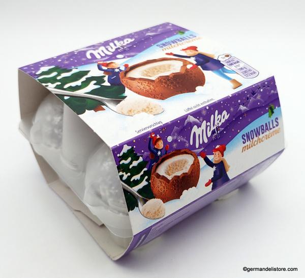 Milka Snowballs Milk Cream