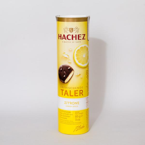 Hachez Lemon Fondant Filled Chocolates