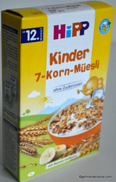 Hipp 7 Grain Muesli for Kids